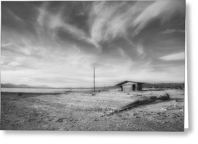 Desolation Greeting Card by Hugh Smith
