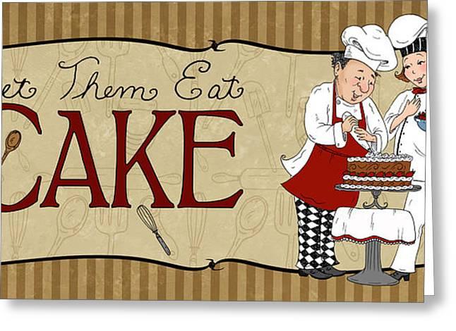 Desserts Kitchen Sign-cake Greeting Card