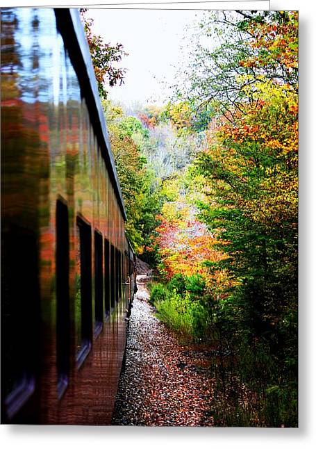 Greeting Card featuring the photograph Destination by Faith Williams