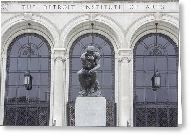 Detroit Institute Of Art Greeting Card