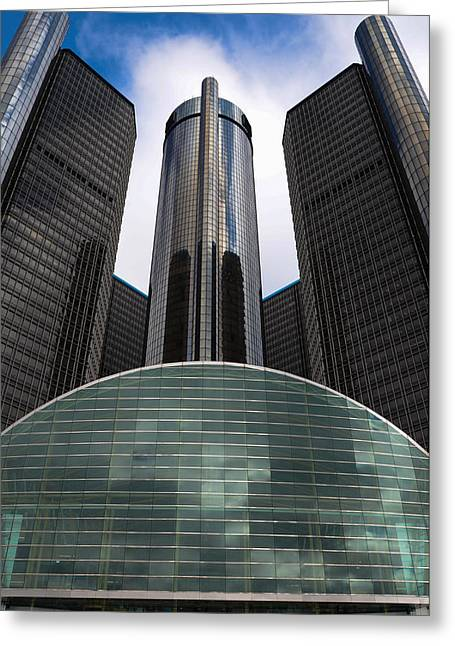 Detroit Renaissance Greeting Card