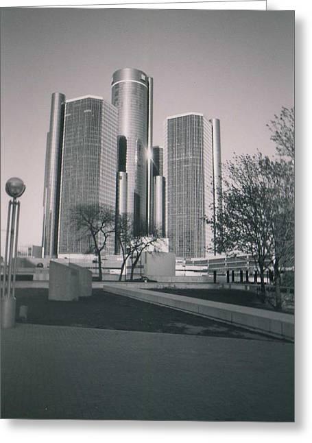 Detroit2 Greeting Card
