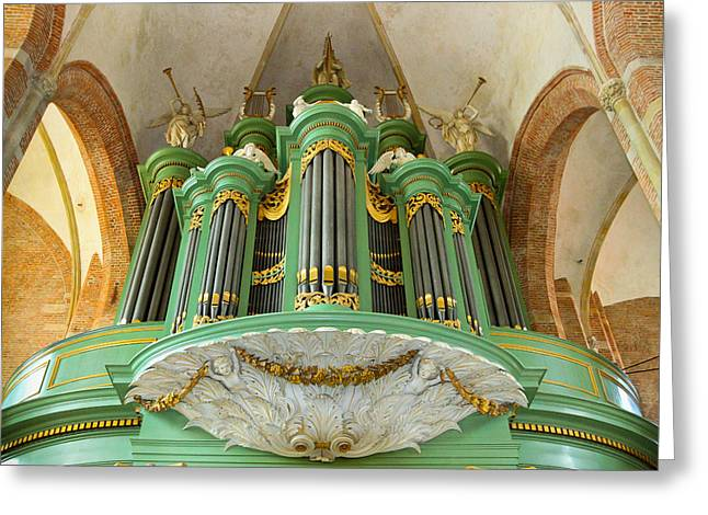 Deventer Organ Greeting Card