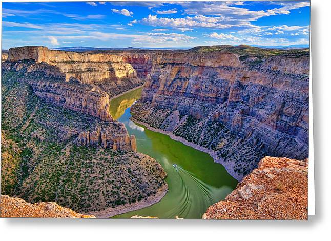 Devil's Canyon Overlook Greeting Card