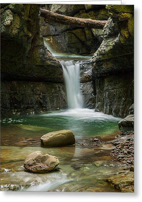 Devil's Pass Canyon Greeting Card by Davorin Mance