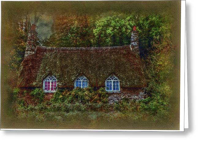 Devonshire Cottage Greeting Card by Hanny Heim