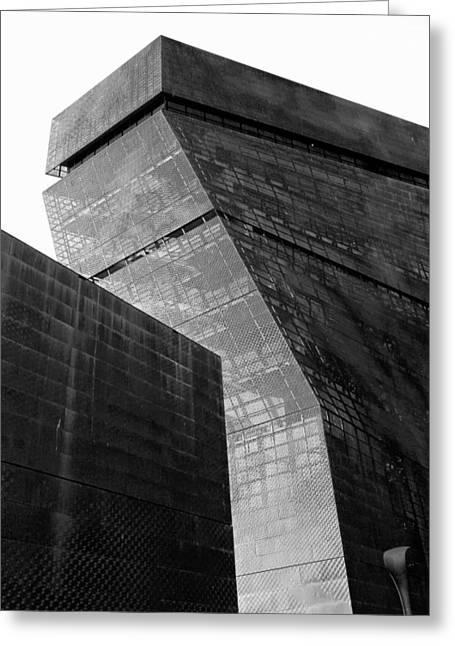 Greeting Card featuring the photograph Deyoung Museum by Michael Hope
