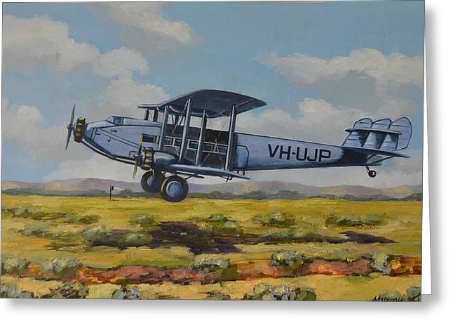 Dh Hercules 1929 Greeting Card by Murray McLeod