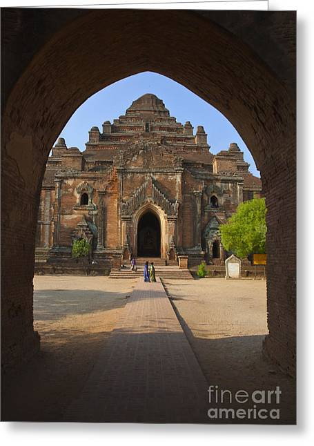 Dhammayangyi Temple Bagan Burma Greeting Card by Craig Lovell