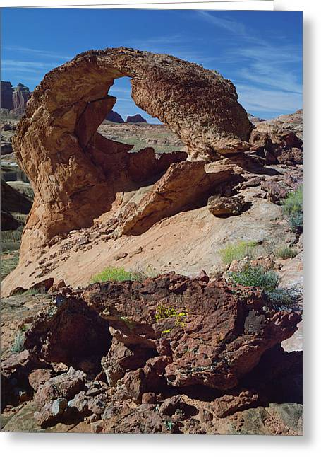 Diagenetic Arch Greeting Card