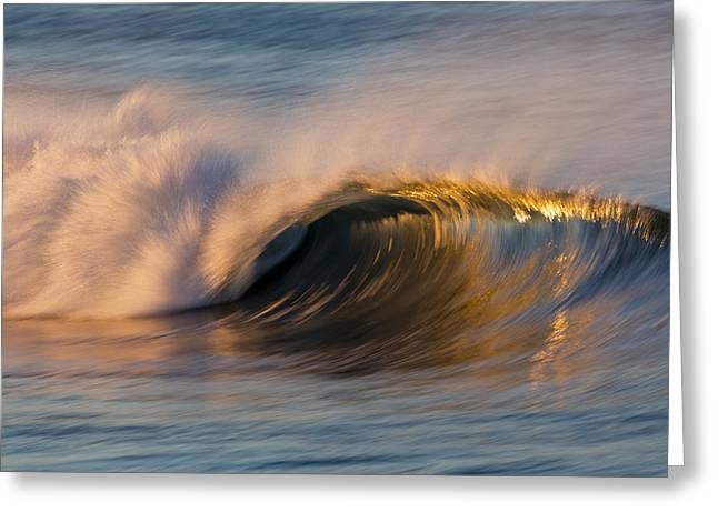 Greeting Card featuring the photograph Diagonal Blur Wave 73a8081 by David Orias