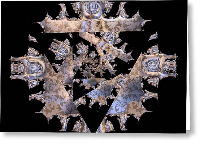 Diamond Crusted Greeting Card by Jim Pavelle
