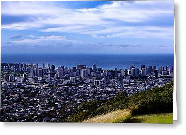 Diamond Head Greeting Card