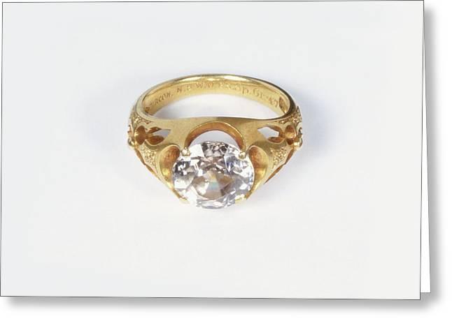 Diamond Ring Greeting Card by Dorling Kindersley/uig