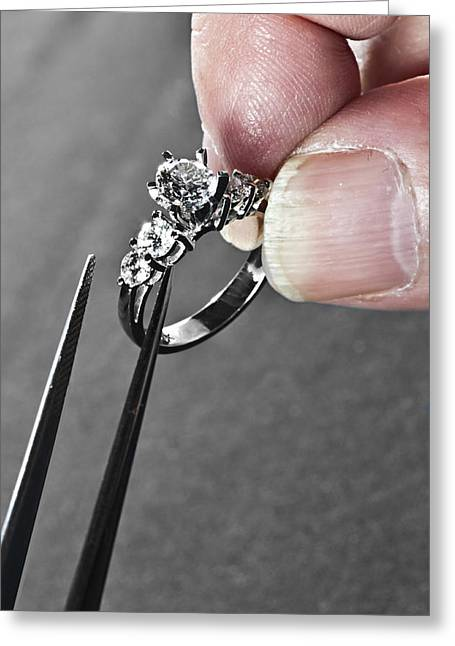 Diamond Ring Remount Greeting Card