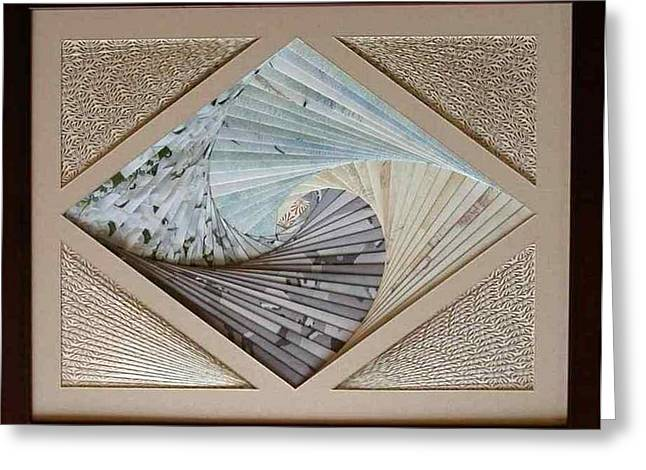 Greeting Card featuring the mixed media Diamonds Are Forever by Ron Davidson