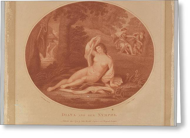 Diana And Her Nymphs Greeting Card by John Baldrey