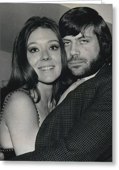 Diana Rigg And Oliver Reed To Star In Film �the Greeting Card by Retro Images Archive