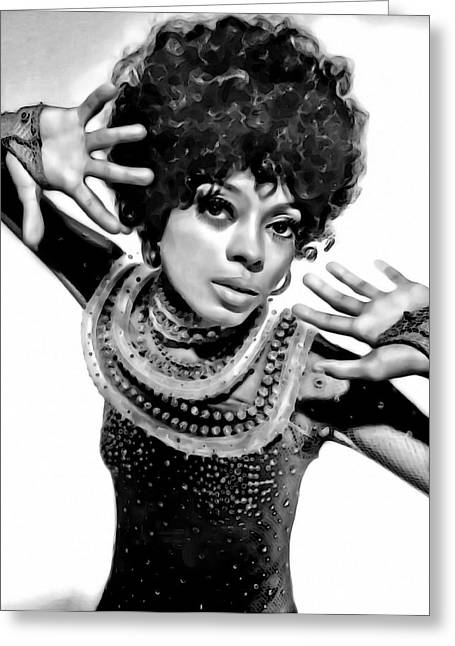 Diana Ross 2 Greeting Card