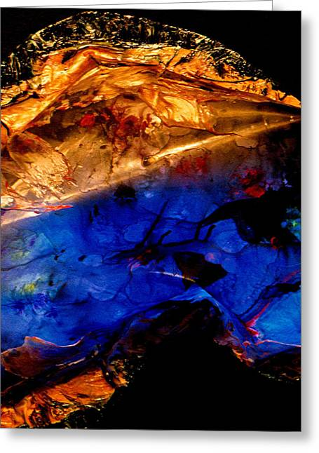 Dichotomy Lll Greeting Card by Colleen Cannon