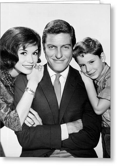 Dick Van Dyke And Mary Tyler Moore 1963 Greeting Card