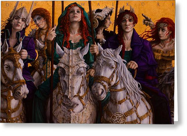 Ride Of The Valkyries Greeting Card