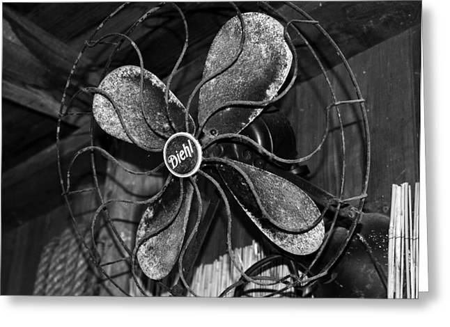 Diehl Fan Circa 1930 Greeting Card by David Lee Thompson