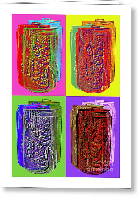 Diet Coke - Coca Cola Greeting Card