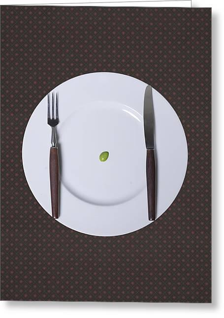 Diet Greeting Card by Joana Kruse
