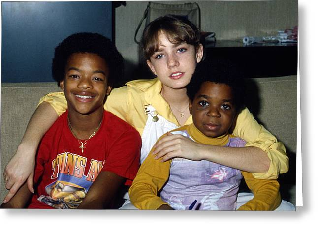 Diff'rent Strokes  Greeting Card by Silver Screen
