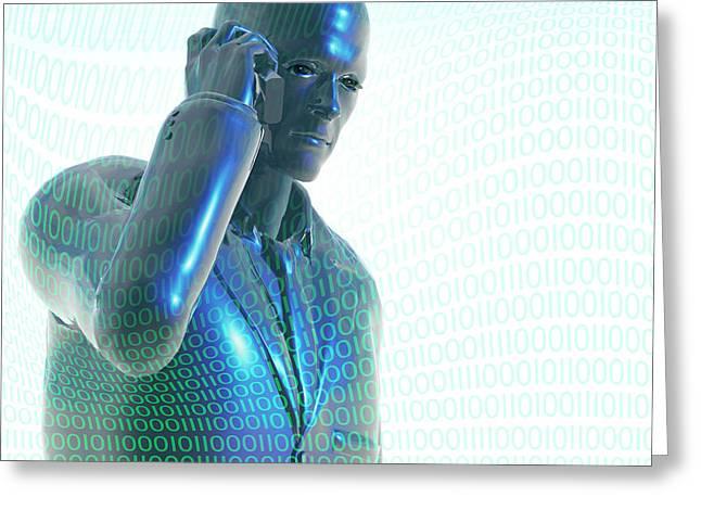 Digital Communication Greeting Card by Carol & Mike Werner