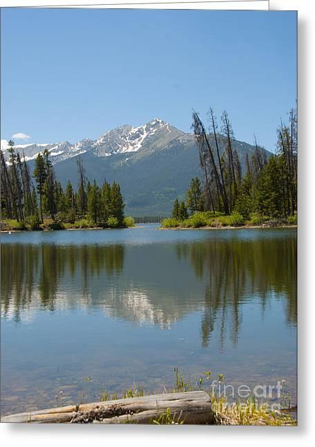 Dillon Lake Greeting Card