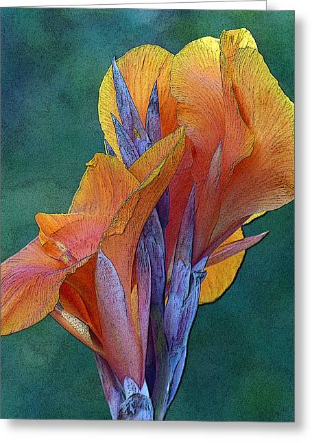 Dimensional Beauty Greeting Card
