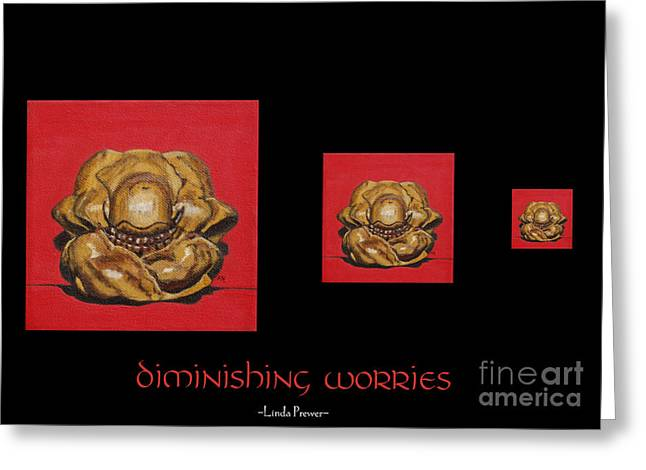 Diminishing Worries Greeting Card