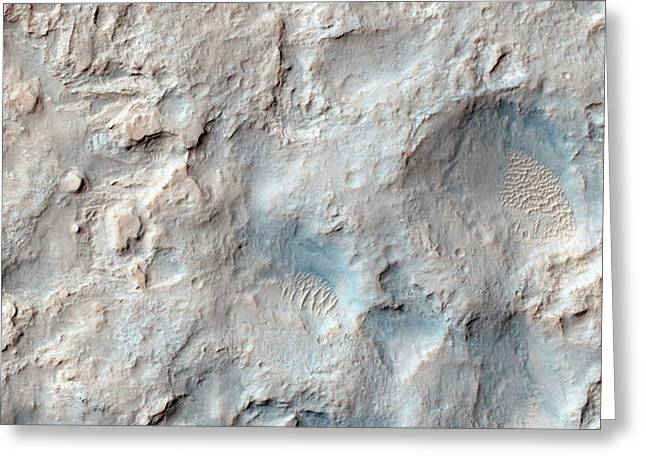 Dingo Gap On Mars Greeting Card by Nasa/jpl-caltech/univeristy Of Arizona