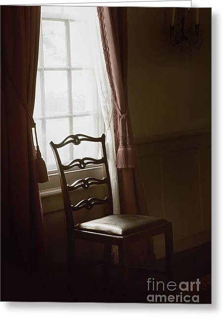 Dining Room Window Greeting Card by Margie Hurwich