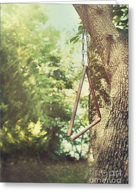 Dinner Bell Greeting Card by Kay Pickens