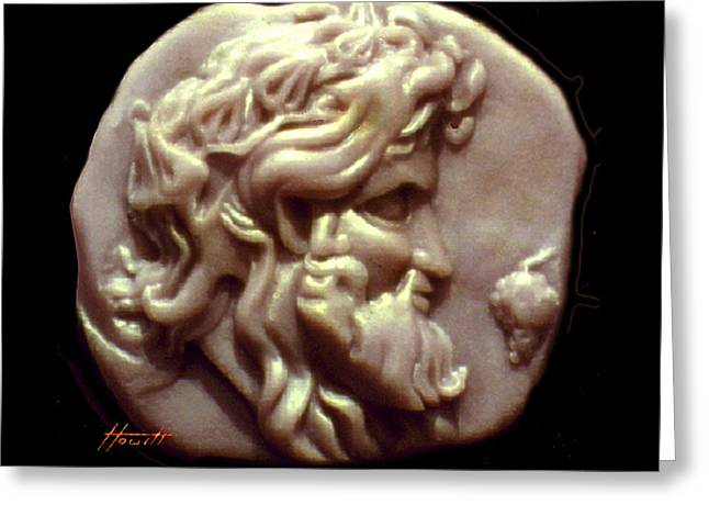 Dionysus Greeting Card by Patricia Howitt