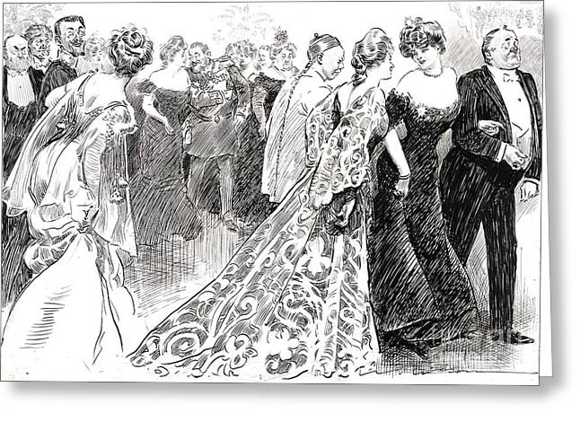 Diplomatic Reception 1904 Greeting Card by Padre Art