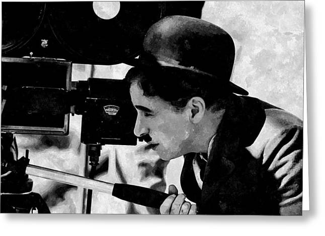 Directed By Charlie Chaplin Greeting Card