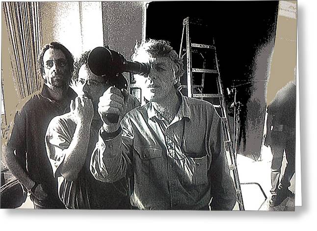 Directors Joel And Ethan Coen Cinematographer Roger Deakins Unknown Date Or Location  Greeting Card