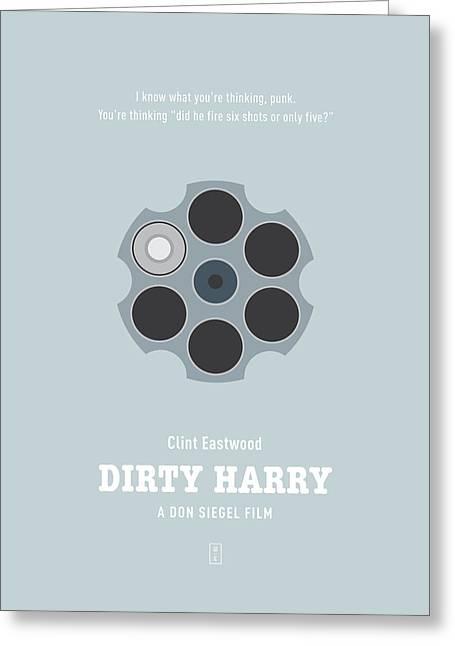 Dirty Harry Greeting Card