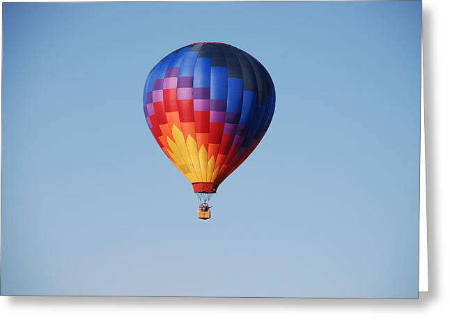 Disco Balloon  Greeting Card by Miguelito B