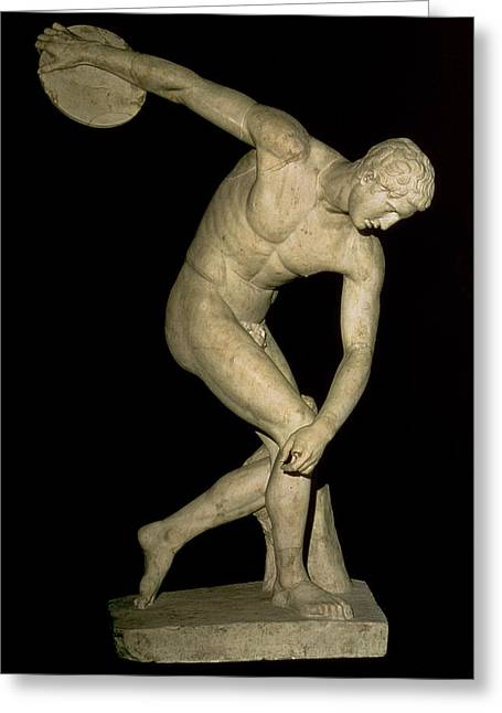 Discobolus  Greeting Card by Myron
