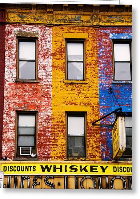 Discount Liquor Greeting Card