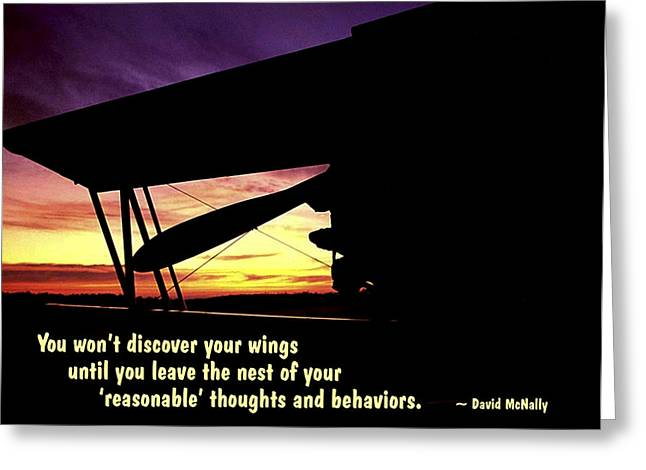 Discover Your Wings Greeting Card