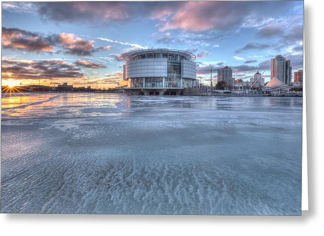 Discovery World On Ice Greeting Card