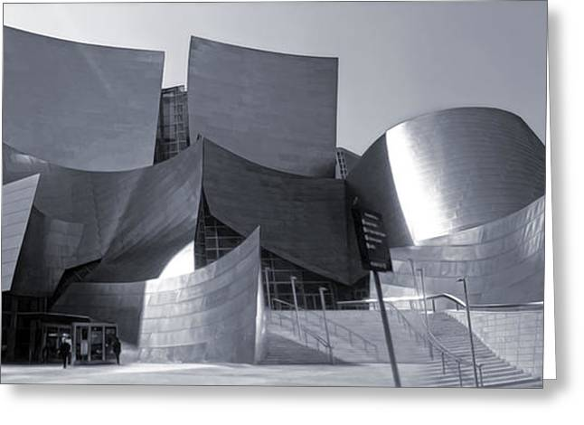 Disney Concert Hall - 02 Greeting Card by Gregory Dyer