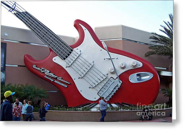 Disney Guitar Greeting Card