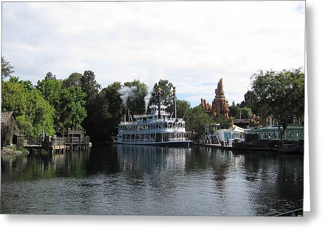 Disneyland Park Anaheim - 121212 Greeting Card